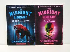 Midnight Library Terrifying Tales by Damien Graves *2 Scholastic Chapter Books