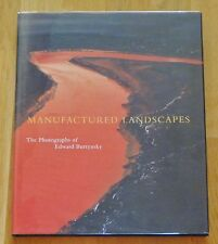 SIGNED - EDWARD BURTYNSKY MANUFACTURED LANDSCAPES - LATER PRINTING