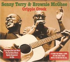 SONNY TERRY & BROWNIE MCGHEE CRIPPLE CREEK - 2 CD BOX SET