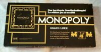Vintage 1961 Monopoly Grand Luxe German & French Switzerland Version, Complete
