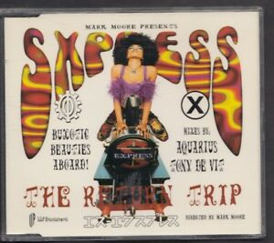 S.EXPRESS Theme From S.Xpress The Return Trip 6 track CD MAXI MN0023