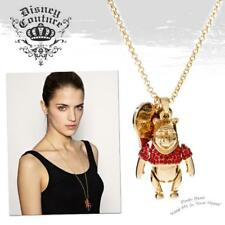 DISNEY COUTURE WINNIE THE POOH RED SWAROVSKI HEART CHARM NECKLACE**1 ONLY/HURRY!