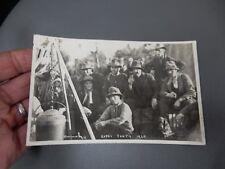 Gypsy Party Baildon ShipleyYorkshire 1929 photographic POSTCARD authentic  q