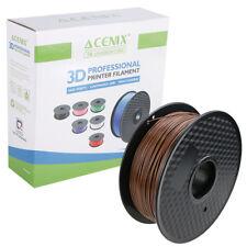 Acenix ® café PLA filamento de impresora 3D 1.75mm 1KG filamento de carrete para impresión 3D