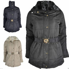 Unbranded Zip Hip Length Polyester Coats & Jackets for Women