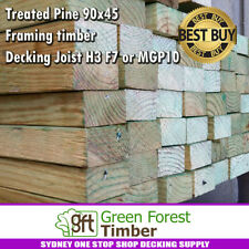 Treated Pine 90x45 framing timber, Decking Joist H3 F7 or MGP10