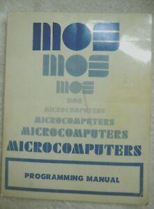 75752 MCS6500 Microcomputer Family Programming Manual January 1976