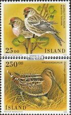 Iceland 833-834 fine used / cancelled 1995 Birds