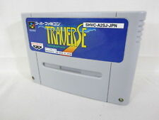 Super Famicom TRAVERSE Video Game Nintendo Cartridge Only sfc