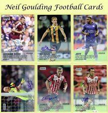 Premier League Autographed Football Trading Cards