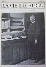 JOURNAL LA VIE ILLUSTREE N° 216 de 1902 ACADEMIE DE MEDECINE FOURRIERE HUMAINE