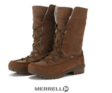 Merrell Womens Emery Lace High Winter Snow Boots US5.5, US6