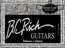 BC Rich Guitar Decal Headstock Decal Restoration Waterslide Logo 57s