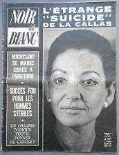 ►NOIR ET BLANC 1312/1970-MARIA CALLAS-ARISTOTE ONASSIS-YVAN REBROFF-RAYMOND BURR