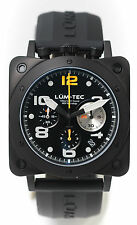 Lum-Tec Watch - Bull42 - A22 Mens Black Stainless Steel Limited Edition