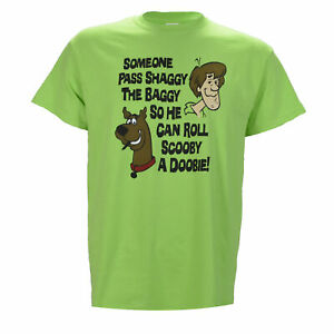 Pass Shaggy the Baggy So He Can Roll Scooby a Doobie