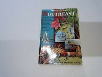 The American Southeast: A Guide To Florida And Adjacent Shores 1960 3rd Printing
