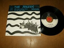 THE JOKERS - JE NE SAIS PAS - DIS-MOI BABY BLUE - 45 PS -LISTEN - FRENCH POPCORN