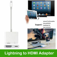 8 Pin Lightning to HDMI Digital AV Adapter Cable For iPhone X 8 7 6 iPad Air Pro