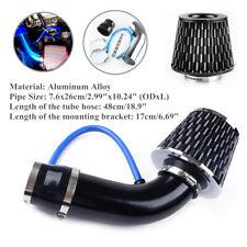 """Car Air Intake Kit Aluminum Alloy Pipe Diameter 3""""+Cold Air Intake Filter+Clamp"""