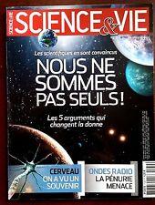 SCIENCE ET VIE  n°1139 du 8/2012; Nous ne sommes pas seuls/ Ondes Radio pénurie