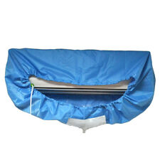 Blue Air Conditioner A/C Cleaning Dust Washing Waterproof Cover Clean Protector