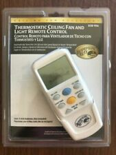 Hampton Bay 838-956 Thermostatic Ceiling Fan and Light Remote Control
