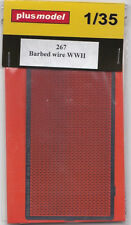 PLUSMODEL PLUS MODEL 267 - BARBED WIRE WWII - 1/35 RESIN