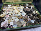 Large+tin+of+vintage+Shell+buttons.++4.5+Lbs%21