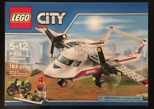 LEGO City 60116  - Ambulance Plane With Motorcycle New and Sealed.