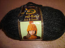 Lion Brand.Wool-Easy.Thick&amp ;Quick.Super Bulky.Charcoal.6 oz