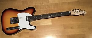 CHORD TELECASTER ELECTRIC GUITAR SUNBURST , UNUSED FROM NEW... ABSOLUTE CLASSIC