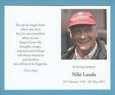 Niki Lauda – Sterbebild   # -  89738