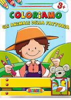 Coloriamo gli animali della fattoria 3+ - Salvadeos - Libro Nuovo in Offerta!