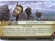 A Game of Thrones 2.0 LCG - 1x #013 Aufgespiesste Köpfe - Base Set - Second Edit