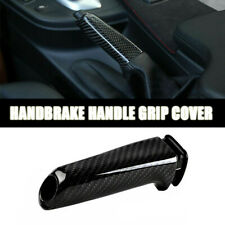 For BMW E60 E84 E87 E90 E91 E92 1X Real Carbon Fiber Handbrake Handle Grip Cover