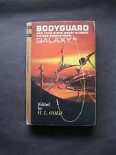 Vintage Sci-Fi 1962 Bodyguard & 4 Other Novels from Galaxy, H.L.Gold editor