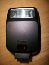 Canon Speedlite 200E Shoe Mount Flash tested and working, with case, good