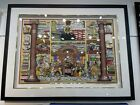 Charles Fazzino Law And Disorder In The Court Law Office Art Limited Edition