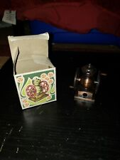 Play Me grinder Pencil Sharpener Miniature Metal Vintage made in spain