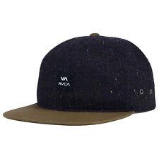 RVCA Box Adjustable Strapback Cap/Hat Grey Herringbone/Purple/Brown $33