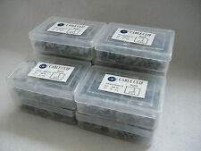 10 X Scatole Di 100 1,5 mm TWIN & Earth Grigio Cavo Clip-Clip 1000-RoHS