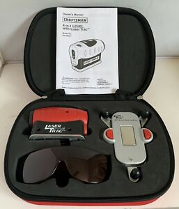 Craftsman 4-in-1 Laser Level with Laser Trac Zippered Case Model 948251 Tested