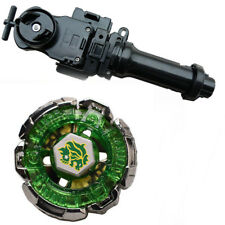 Fusion Beyblade Masters Metal Fang Leone 130W2D BB-106 w/ Black Grip Launcher