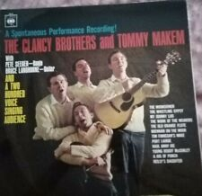 THE CLANCY BROTHERS AND TOMMY MAKEM SPONTANEOUS PERFORMANCE RECORDING VINYL LP