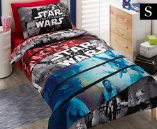 Star Wars Movie Conflict Single Bed Duvet Quilt Doona Cover Set Black