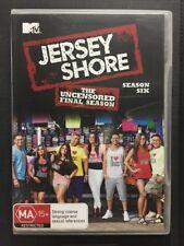 Jersey Shore Uncensored Season Six 6 DVD Region 4 Final Season