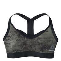 NEW Reebok Athletic Women's Combat 2-IN-1 Bra Racer-back Sports Bralette