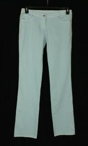 Loops By Robert In' veld Women's Blue Casual Pants Size 42 (6 US) Made In Italy