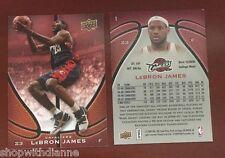 2008-09 UPPER DECK STARTING 5 LEBRON JAMES SP PROMO CARD #1